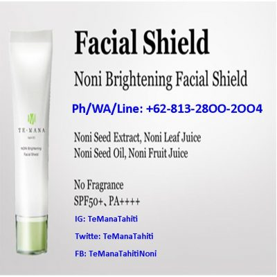 TeMana Morinda Facial Shield